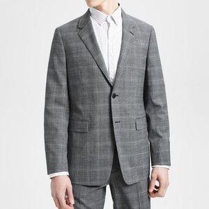 Wool Plaid Chambers Jacket